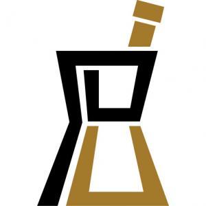 Pharmacy Mortar-and-pestle logo